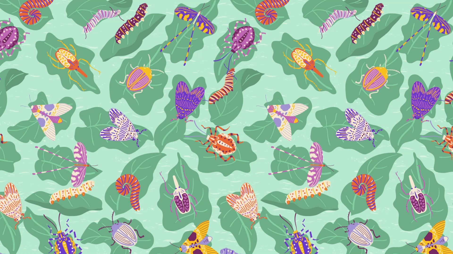 Bugs Surface Pattern 16x9 JPEG